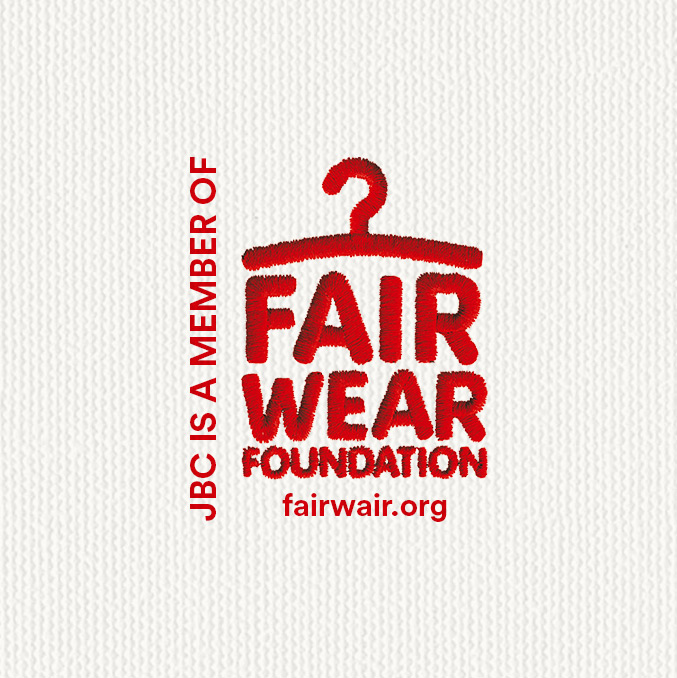 JBC is lid van de Fair Wear Foundation